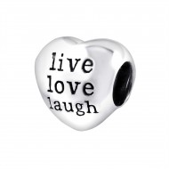 Live Love Laugh  hart bedel