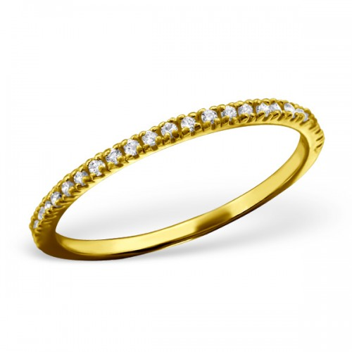 Silver ring (gold plated)