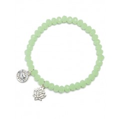 Armband charm diamand Mint