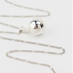 Babylonia ketting silver plated