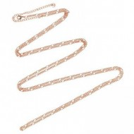 Babylonia ketting rose gold plated