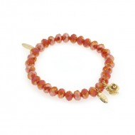 BIBA Ruby and Rose armband 8 mm