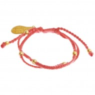 Flash red bracelet