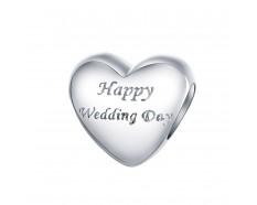 Hart happy wedding day bead