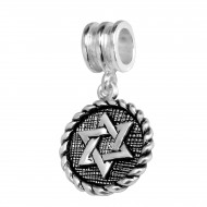 Hexagram dangle bedel