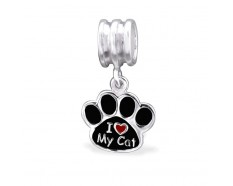 Kattenpoot love cat dangle bedel