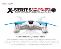 MJX X300 FPV quadcopter 2.4Ghz