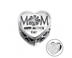 Mom hart Mothersday cristal bedel
