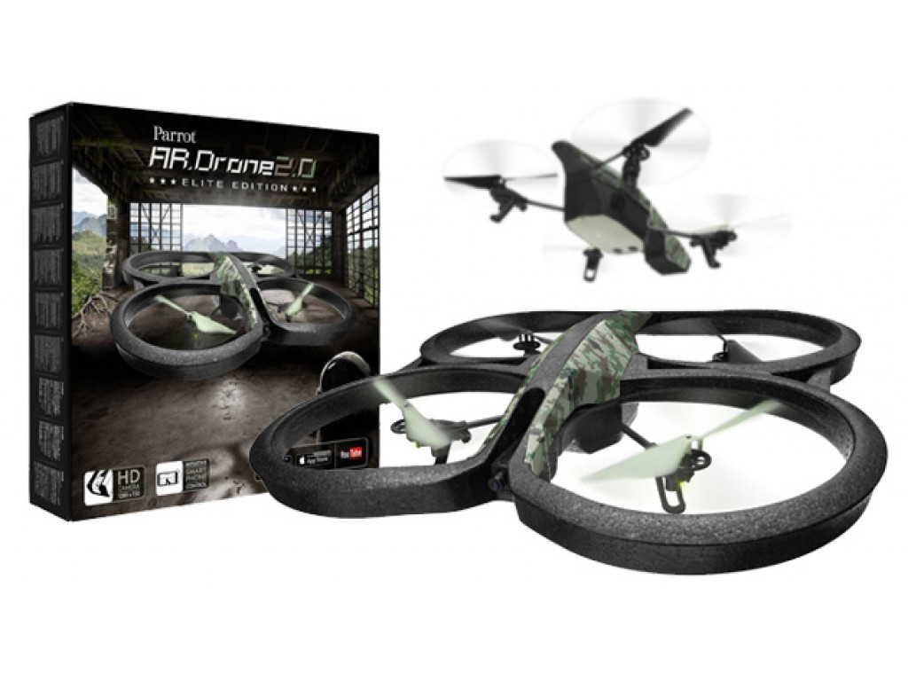 parrot ar drone 2 0 elite edition jungle. Black Bedroom Furniture Sets. Home Design Ideas