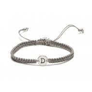 Proud Mama armband letter D