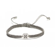 Proud Mama armband letter H