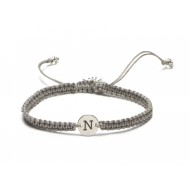 Proud Mama armband letter N