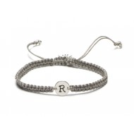 Proud Mama armband letter R