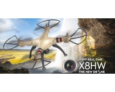 Syma X8HW met 720p WiFi HD camera